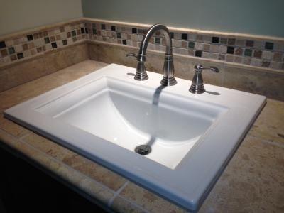 KOHLER Memoirs White Dropin Rectangular Bathroom Sink