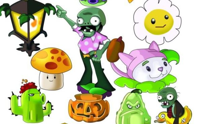 Plants Vs Zombies Plush Characters The Plants Vs