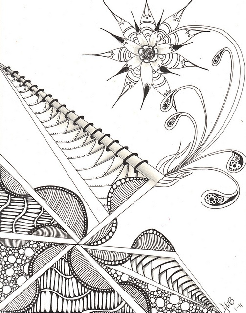 17 Best images about ZenTangle Instructions /Steps /How To