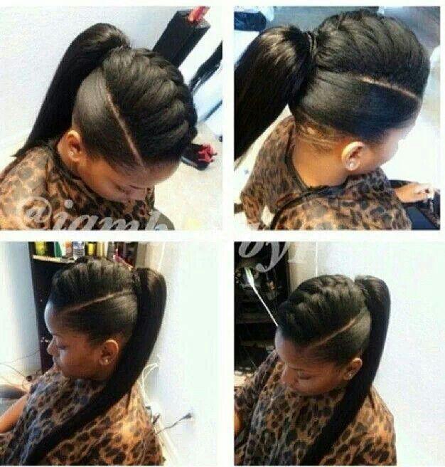 french braided faux hawk ponytail i pinned them cuz they re flyyyy pinterest beautiful