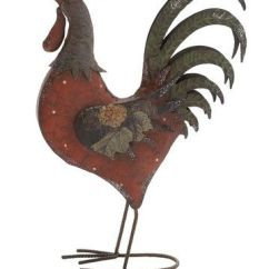 Rooster Statue For Kitchen Cabinet Pull Handles 18 Best Images About Metal / Chicken On Pinterest ...