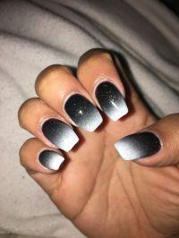 1000+ ideas about Black Acrylic Nails on Pinterest | Black ...
