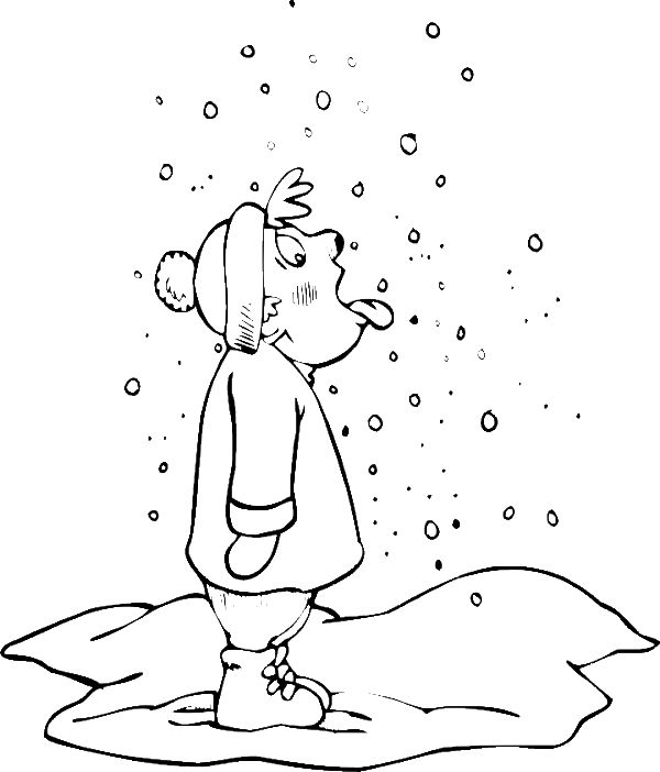 1000+ images about snow coloring sheet for g-kids on Pinterest