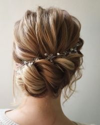 25+ best ideas about Bridal hair on Pinterest | Bridesmaid ...