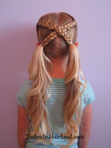 25 Best Ideas About Easy Kid Hairstyles On Pinterest Braids For