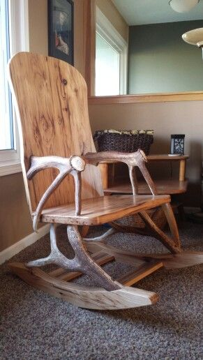 deer antler rocking chair covers hire chelmsford 25+ best ideas about elk antlers on pinterest | horns, rustic man cave and horns decor