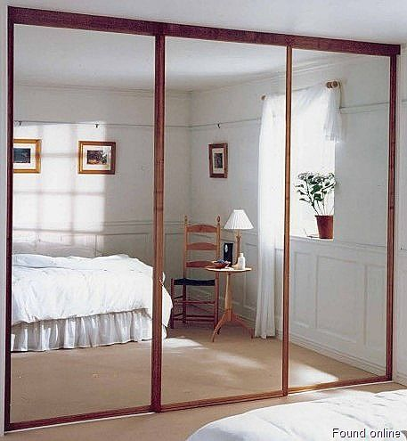 sliding bedroom closet door mirror 1000+ ideas about Sliding Closet Doors on Pinterest