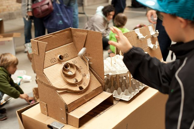 Caines Arcade Toronto Global Cardboard Challenge By