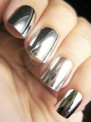 mirror nail polish art