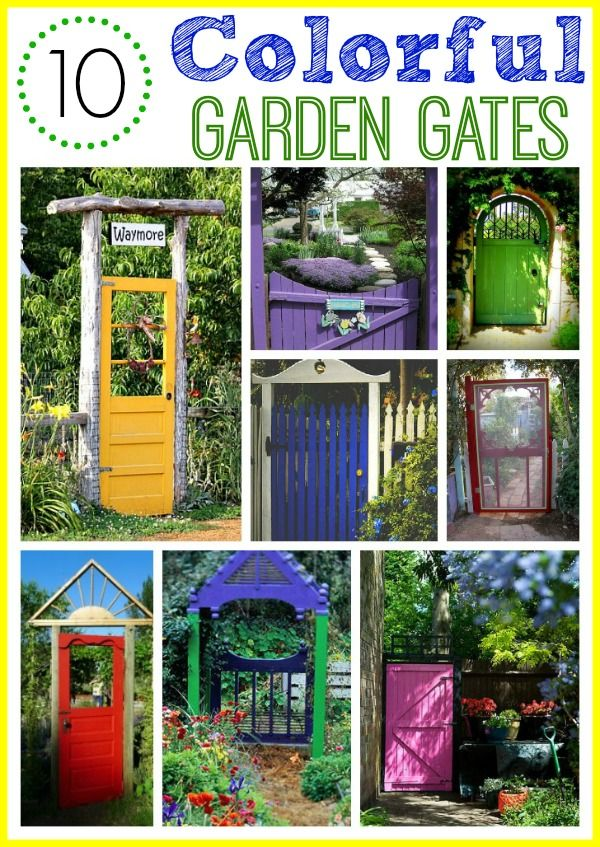 41 Best Images About GARDEN Gates & Arches ❤ On Pinterest