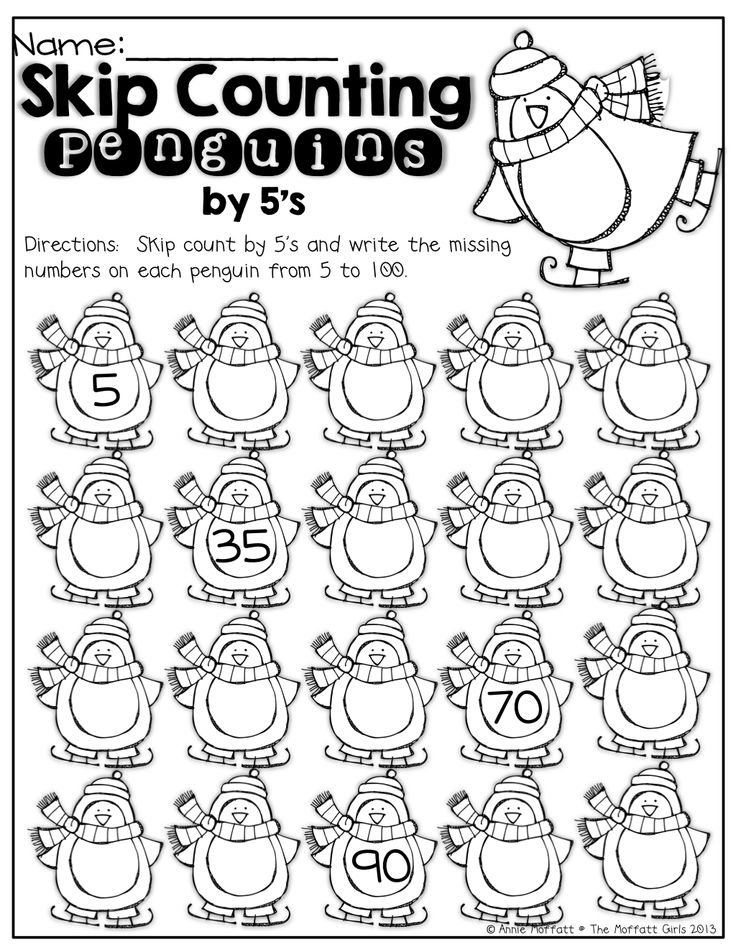 54 best images about Counting by 5's forward and backward