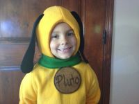 Pluto Fleece Dog Costume~ Children's | Birthdays ...