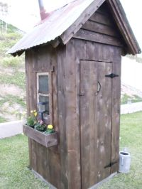 25+ best Outhouse Ideas on Pinterest | Outhouse decor ...