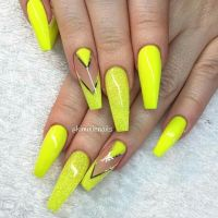 25+ best ideas about Neon yellow nails on Pinterest | Neon ...