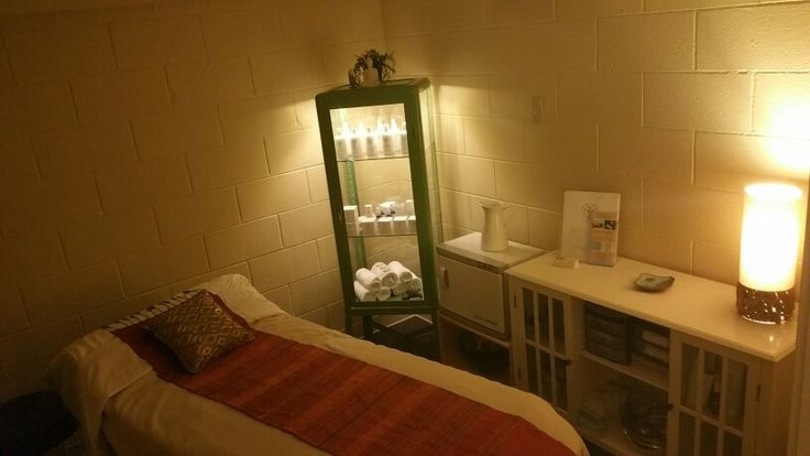 My new space Facial  massage room  Ikeacom green retro