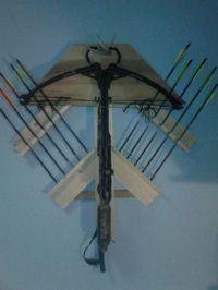 Compound Bow Rack | Bows | Pinterest | Birthdays, Crossbow ...