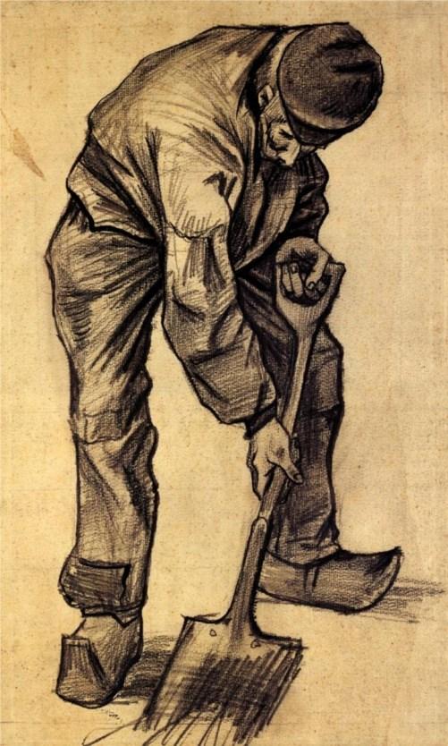 Digger - Vincent van Gogh - WikiPaintings.org: