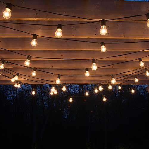 25+ best ideas about Backyard string lights on Pinterest