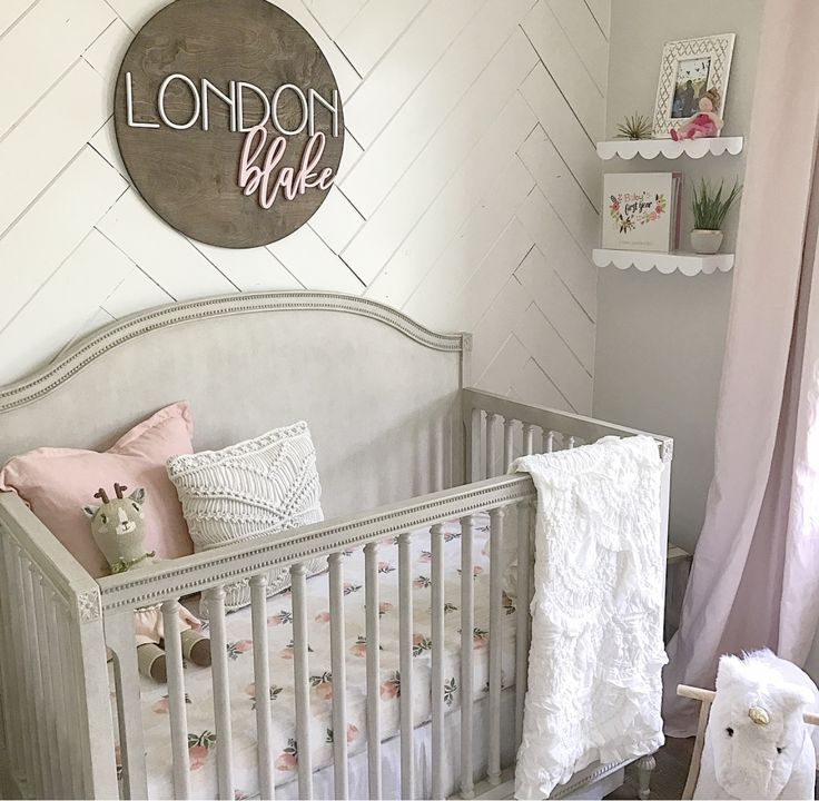 25 best ideas about Baby girl rooms on Pinterest  Baby girl bedroom ideas Small baby rooms