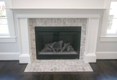 25+ best ideas about Tile around fireplace on Pinterest