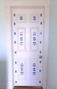 Frozen Elsa Inspired Vinyl Door Decal, Little Girls Room ...