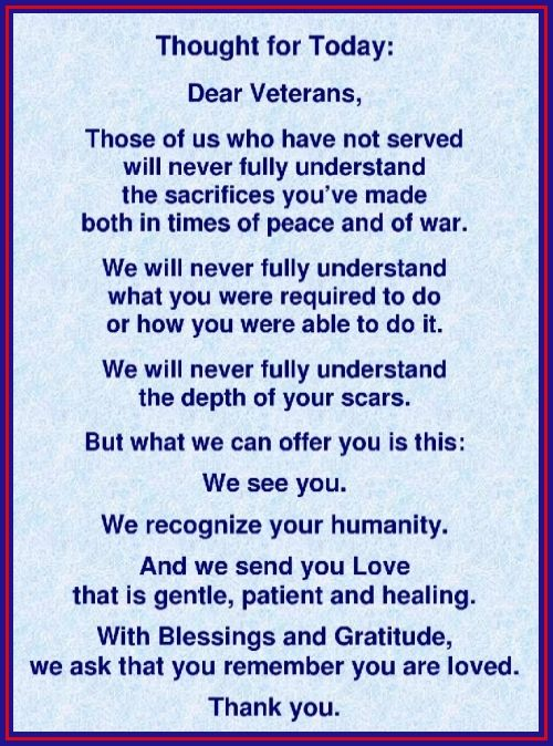 Veterans Day Thoughts Prayers Gratitude Httprandigfine