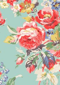 1000+ ideas about Floral Fabric on Pinterest | Vintage ...