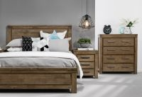 Greyson 4 Piece Tall Chest King Bedroom Suite | Super A ...