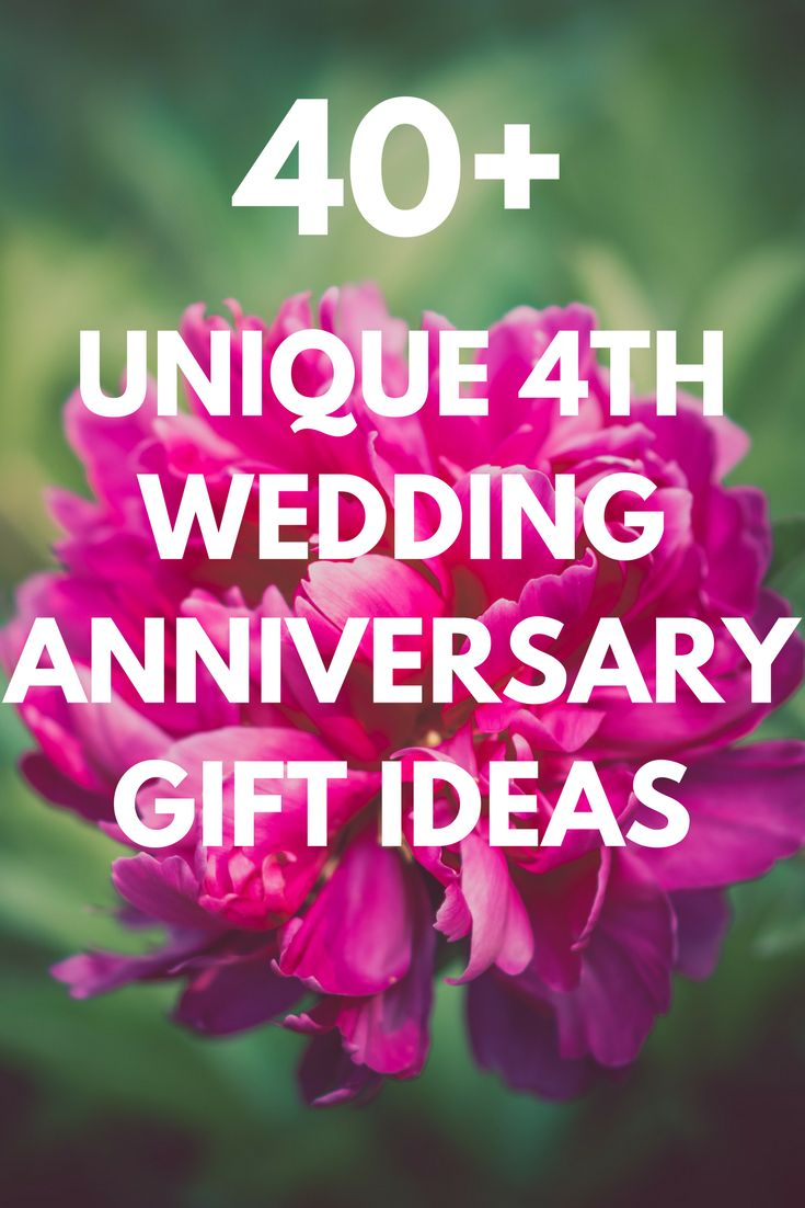 25 best ideas about 4th Anniversary Gifts on Pinterest  4th anniversary 4th wedding