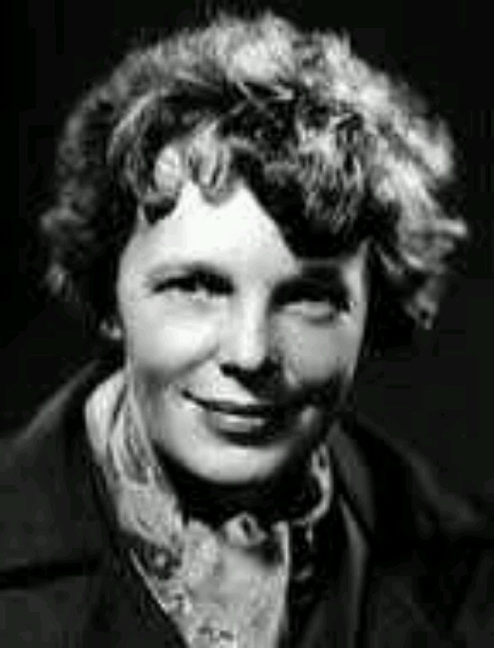 Drawn Pictures Amelia Earhart