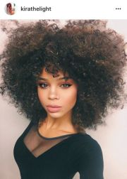 ideas curly afro