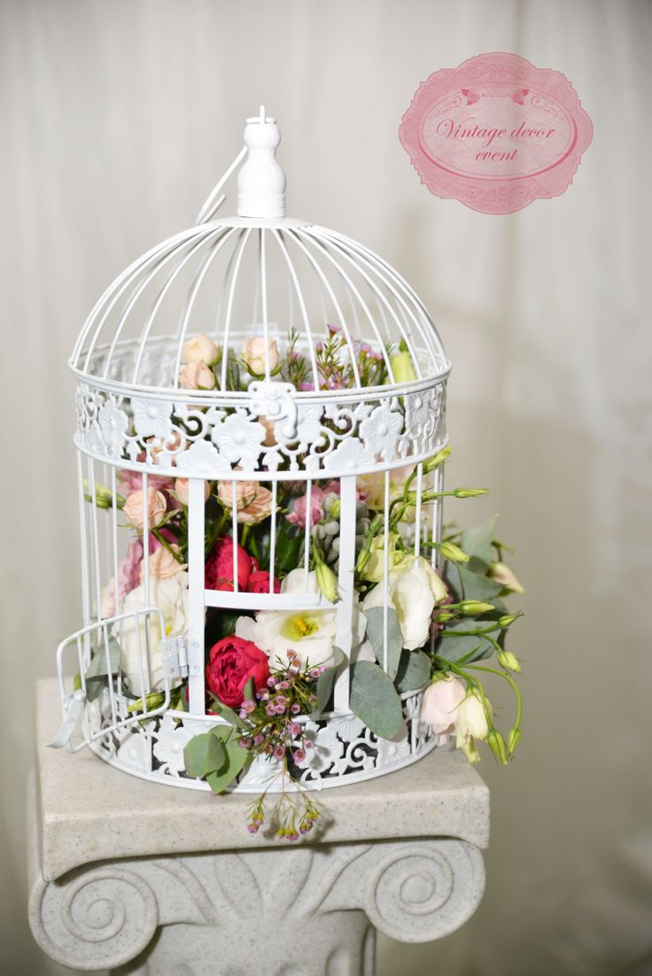 17 Best Images About Bird Cage Floral Design On Pinterest Hanging Flower Pots Flower Tree And