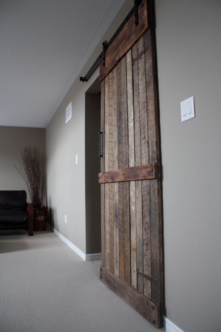 New Rustic Style Sliding Barn Wood Door Wwwloftdoorscom