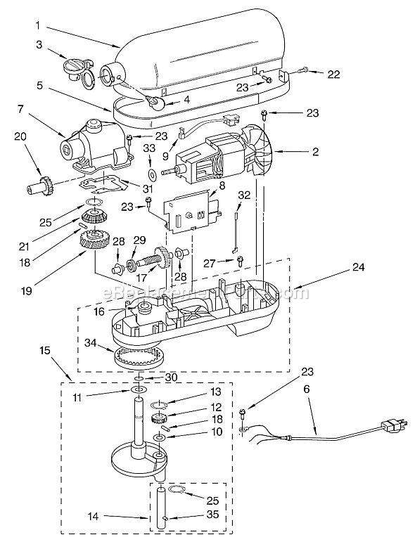 1000+ images about Fix a KitchenAid Professional stand