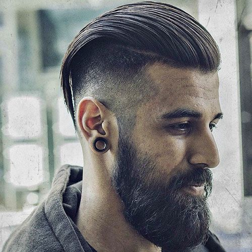 25 Best Ideas About Mens Slicked Back Hairstyles On Pinterest