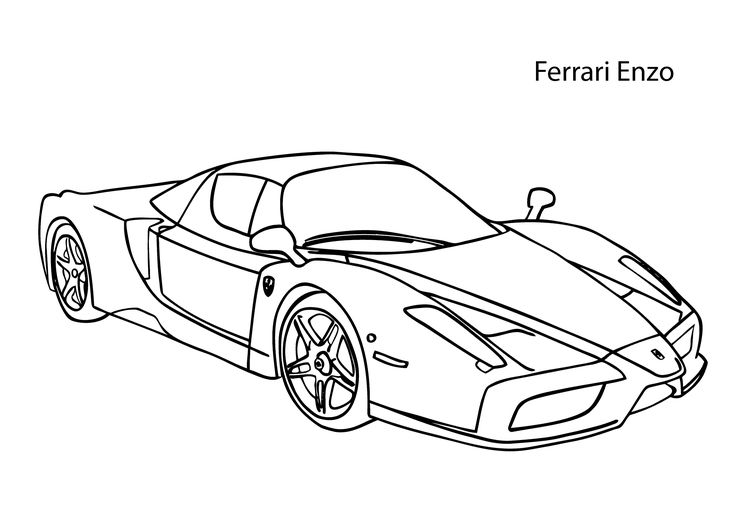 Ferrari Motordiagramm