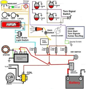 Best 31 Motorcycle Wiring Diagram images on Pinterest | Cars and motorcycles