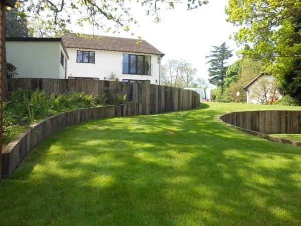 26 Best Images About Curved Retaining Wall On Pinterest Gardens