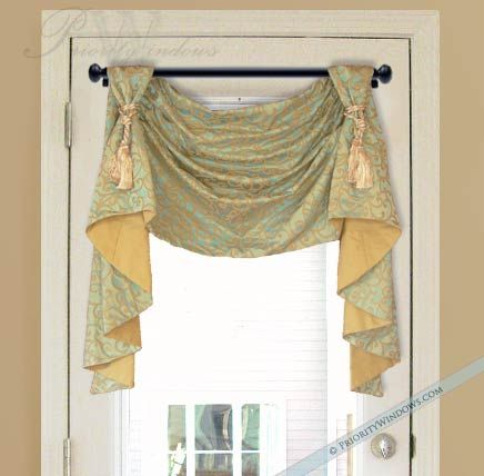 25 Best Ideas About Swag Curtains On Pinterest Tropical Window