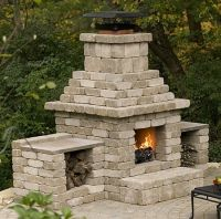 25+ Best Ideas about Outdoor Fireplace Plans on Pinterest
