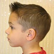 spiked front short and sides
