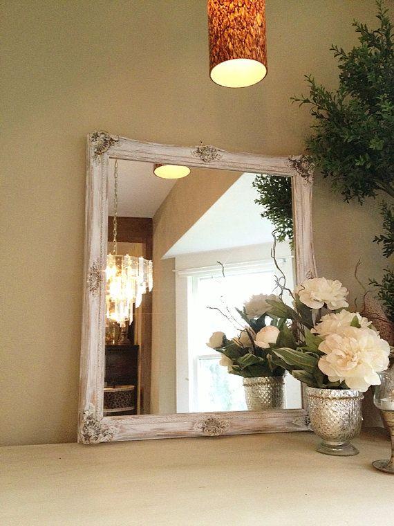 17 Best ideas about Chalk Paint Mirror on Pinterest