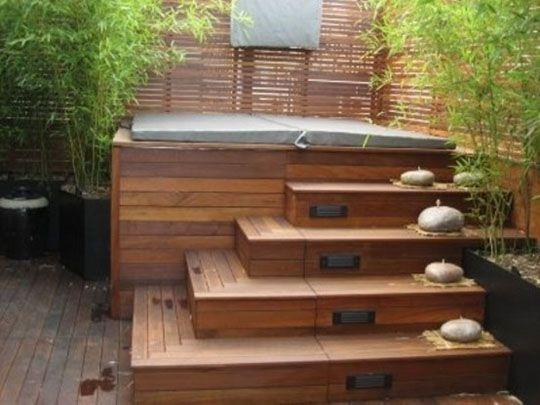25 Best Ideas About Backyard Hot Tubs On Pinterest Hot Tub