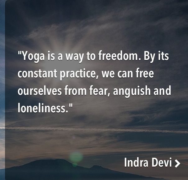 Yoga Quote of the Day Accompanied by this Yoga Meditation