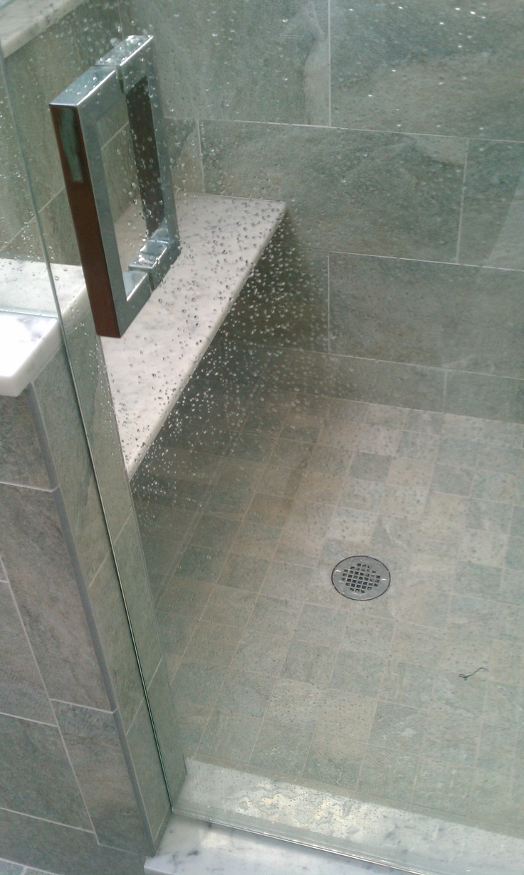 Shower stall granite bench  Ideas for the House