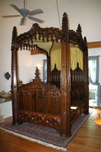 25+ best ideas about Gothic Bed on Pinterest | Gothic ...