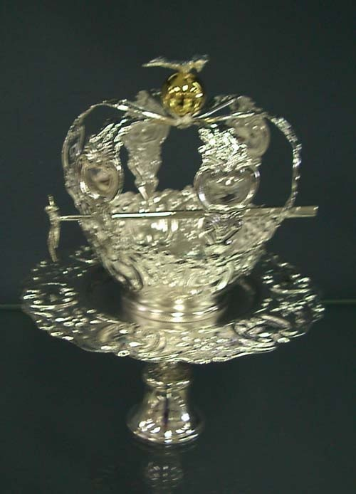 called the Holy Spirit crown  Portugal  Pinterest  Holy