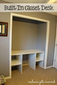 Best 20+ Closet Desk ideas on Pinterest | Closet office ...