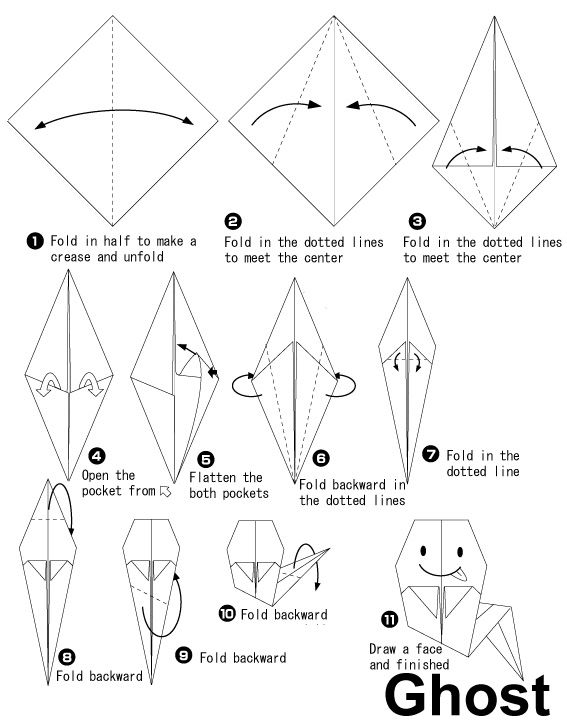 25+ best ideas about Origami Halloween on Pinterest