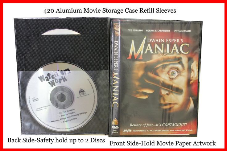 Amazoncom New 50 Pk Refill Sleeves For Dvd Blu Ray Movie